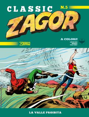 La valle proibita - Zagor Classic 05 cover