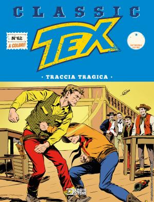 Traccia tragica - Tex Classic 62 cover