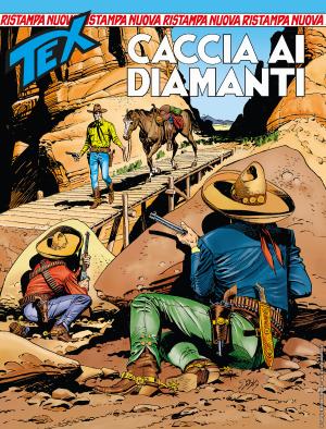 Caccia ai diamanti - Tex Nuova Ristampa 448 cover