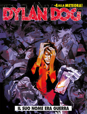Il suo nome era guerra - Dylan Dog 396 cover