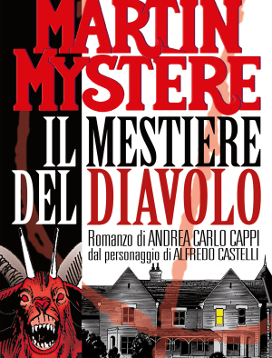 Il mestiere del diavolo - Romanzo Martin Mystère 03 cover