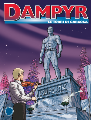 Le Torri di Carcosa - Dampyr 234 cover