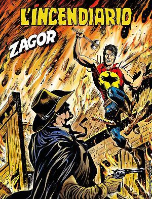 L'incendiario - Zagor 651 cover
