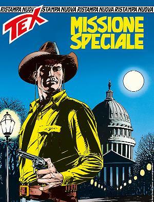Missione speciale - Tex Nuova ristampa 450 cover