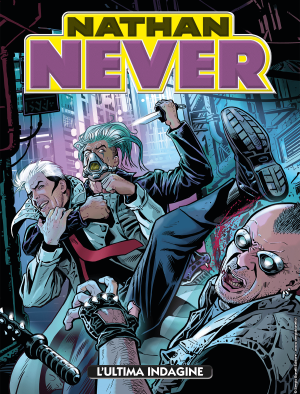 L'ultima indagine - Nathan Never 341 cover