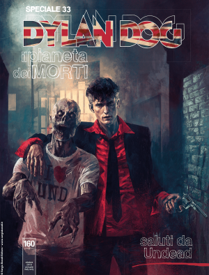 Saluti da Undead - Speciale Dylan Dog 33 cover