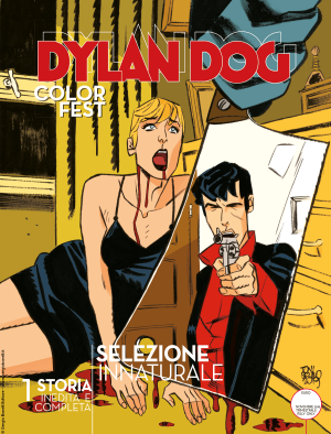 Selezione innaturale - Dylan Dog Color Fest 31 cover
