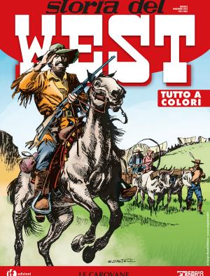 Le carovane - Storia del West 08 cover