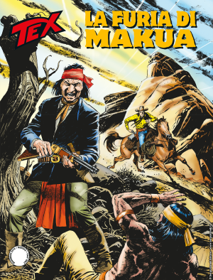 La furia di Makua - Tex 709 cover