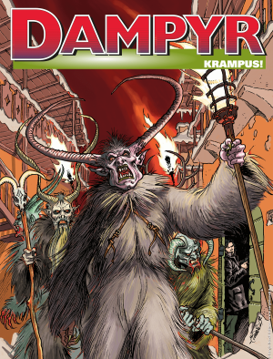 Krampus! - Dampyr 237 cover