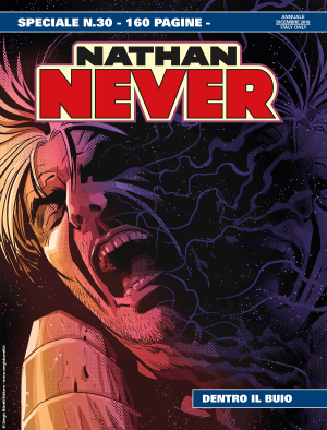 Dentro il buio - Speciale Nathan Never 30 cover
