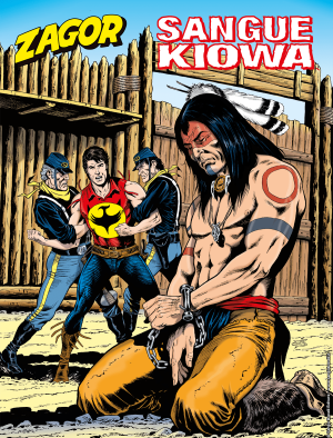 Sangue Kiowa - Zagor 654 cover