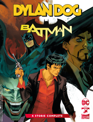 Dylan Dog/Batman cover