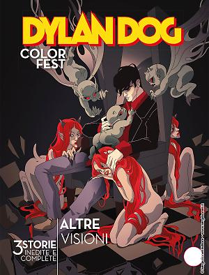 Altre visioni - Dylan Dog Color Fest 32 cover