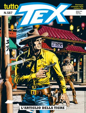 L'artiglio della tigre - Tutto Tex 587 cover