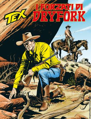 I forzati di Dryfork - Tex 712 cover