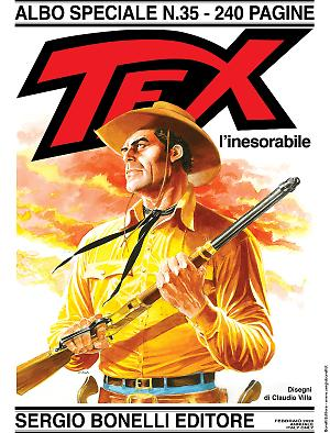 Tex l'inesorabile - Speciale Tex 35 cover