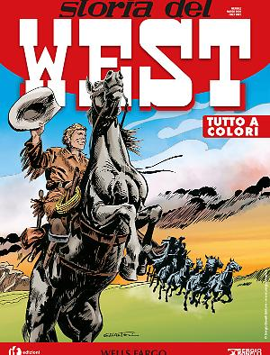 Wells Fargo - Storia del West 12 cover