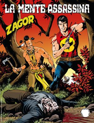 La mente assassina - Zagor 657 cover