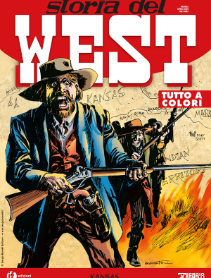Kansas - Storia del West 13 cover
