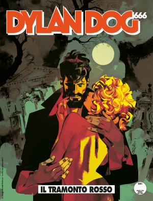 Il tramonto rosso - Dylan Dog 402 cover