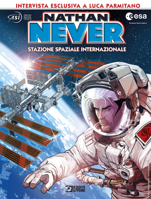 Nathan Never Stazione Spaziale Internazionale cover