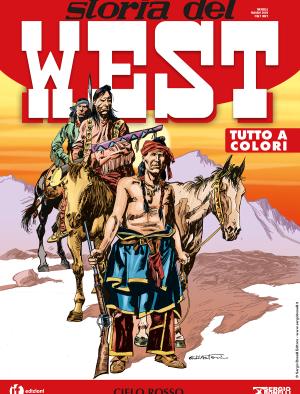 Cielo rosso - Storia del West 14 cover