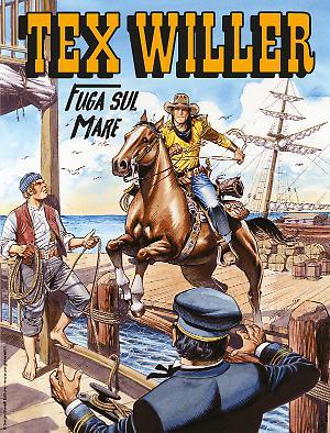 Fuga sul mare - Tex Willer 19 cover