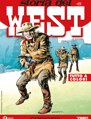 L'ultimo duello - Storia del West 15 cover