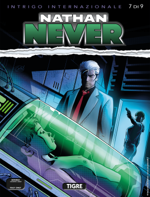 Tigre - Nathan Never 349 cover