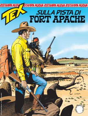 Sulla pista di Fort Apache - Tex Nuova Ristampa 458 cover