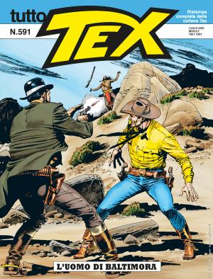 L'uomo di Baltimora - Tutto Tex 591 cover