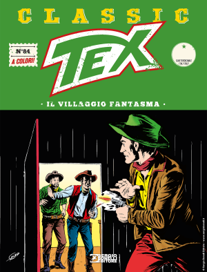 Il villaggio fantasma - Tex Classic 86 cover