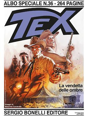 La vendetta delle ombre - Speciale Tex 36 cover