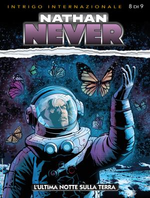 L'ultima notte sulla Terra - Nathan Never 350 cover