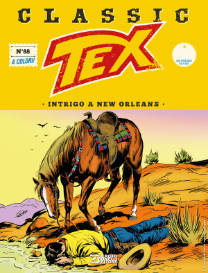 Intrigo a New Orleans - Tex Classic 88 cover