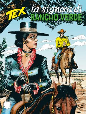 La signora di Rancho Verde - Tex 718 cover