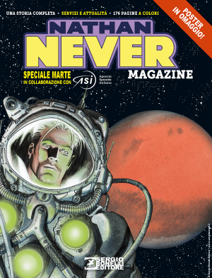 Nathan Never Magazine 2020 cover