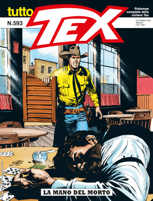 La mano del morto - Tutto Tex 593 cover