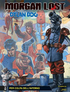 Per colpa dell'Inferno - Morgan Lost & Dylan Dog 06 cover
