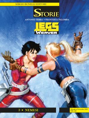 Legs Weaver 3 - Nemesi - Le Storie 98 cover