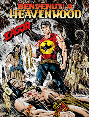 Benvenuti a Heavenwood - Zagor 665 cover