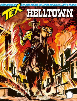 Helltown - Tex Nuova Ristampa 464 cover
