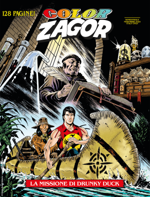 La missione di Drunky Duck - Color Zagor 12 cover