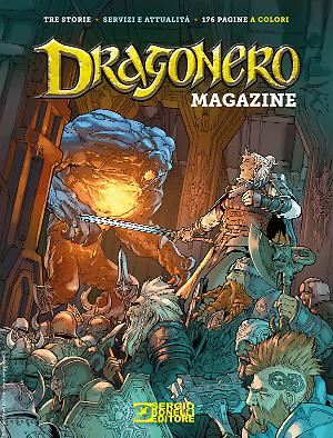 Dragonero Magazine 2020 cover