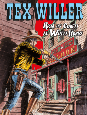 Resa dei conti al White Horse - Tex Willer 25 cover