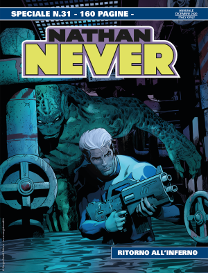 Ritorno all'inferno - Speciale Nathan Never 31 cover
