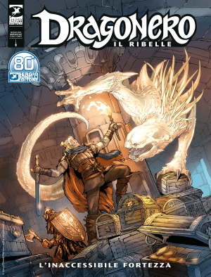 L'inaccessibile fortezza - Dragonero Il Ribelle 15 cover