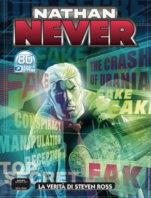 La verità di Steven Ross - Nathan Never 356 cover