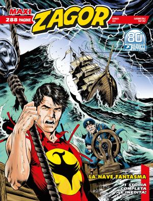 La nave fantasma - Maxi Zagor 41 cover